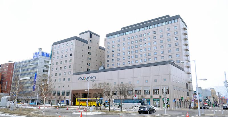 函館支社はJR函館駅前の函館ツインタワービル10階にあります