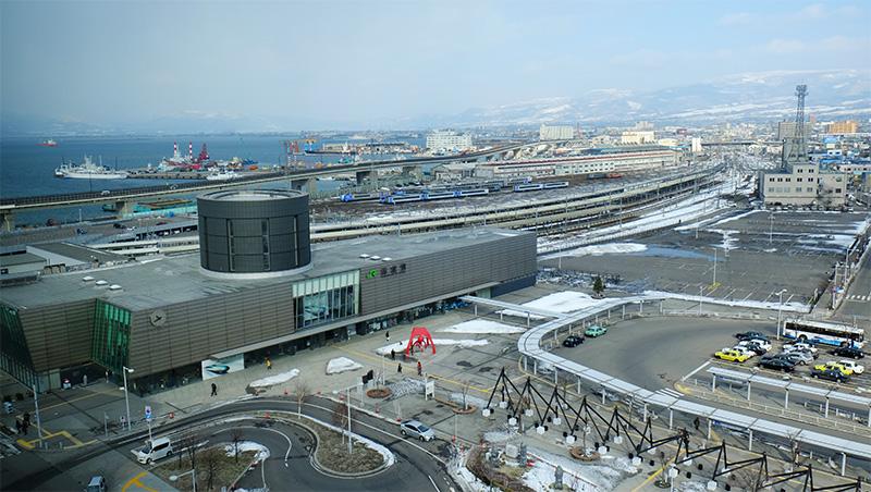 函館支社からの眺望