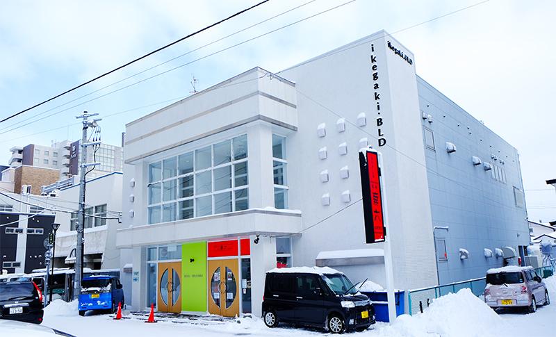 商業施設だった建物をリノベーションした自社ビル