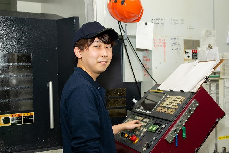 株式会社プロメック 函館工場 小野睦紀さん