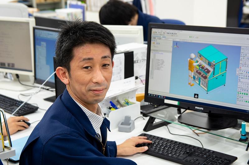 株式会社メデック 装置事業本部 第一機械設計部 係長 谷村武史さん
