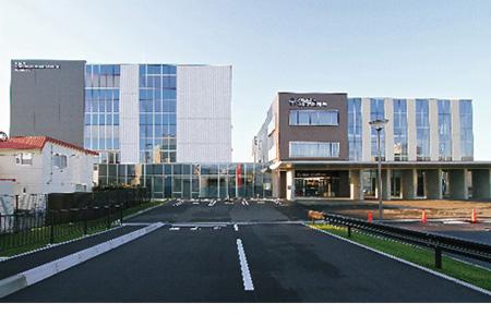 当社設計実績例:函館市医師会 検診検査センター、看護・リハビリケーション学院(函館市)