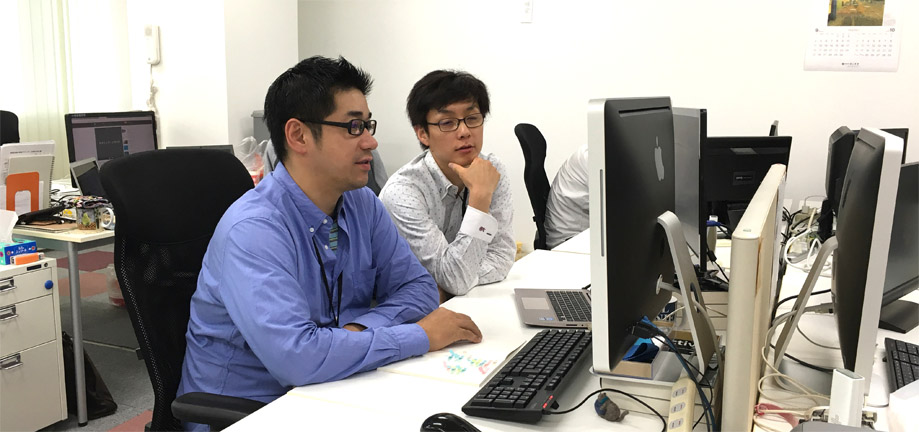 社員同士のコミュニケーションが活発な会社です。