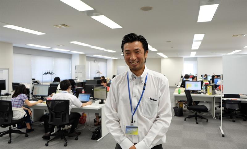 「自分の能力を活かしたい、スキルアップしたい方、ぜひ当社へ!」事業推進部 成田幸夫