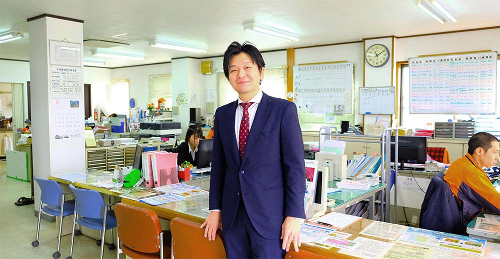 辰己商事株式会社 代表取締役 辰己博康(東京からのUターン経験者です)