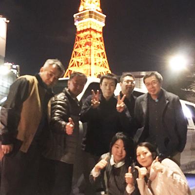 毎年の社員旅行で親睦を深めます。(2年に1度は海外へ行きます。)