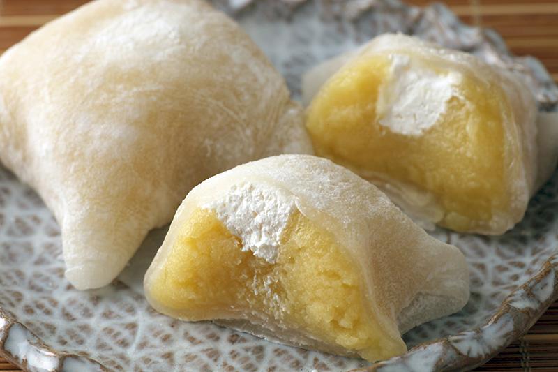 かまくらをイメージした和洋菓子「はこだて雪んこ」
