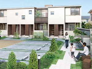 """快適な居住性・デザイン性を追求した賃貸住宅。豊富なラインナップで、お客様の多様なニーズに応えます。<a href=""""http://www.kentaku.co.jp/estate/"""">→土地活用をお考えの方・オーナーの方向けのぺージはこちら</a>"""
