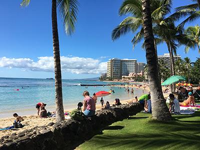 2016年12月、会社設立25周年記念旅行でハワイへ