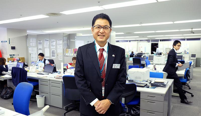 函館支社長 村上嘉一