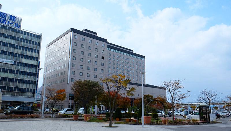 函館支社(JR函館駅前、函館ツインタワー8階)